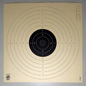 Cibles pistolet 10 mètres